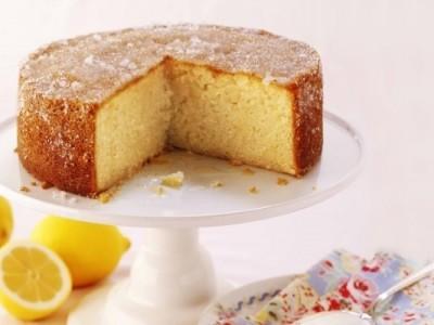 Bolo diet de limão